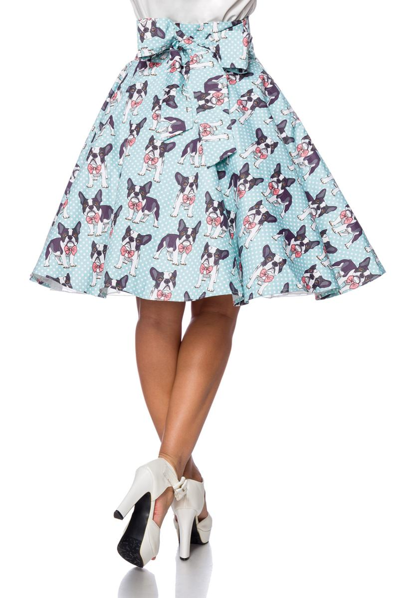 50\'s hoge taille swing rok Puppies