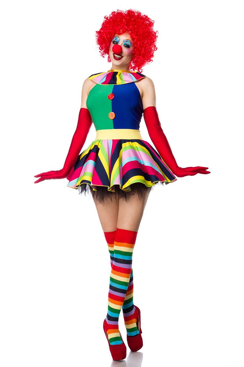 Carnavalskleding Dames Clown.Dames Clown Kostuum Set Sexy Kostuums Carnavalskleding Feestkleding