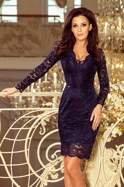 836959242a4 Bodycon jurkjes, mid-lengte jurkjes, sexy jurkjes, avondkleding, lange  mouwen jurken, kanten jurkje , aansluitend jurkje -Sassymania