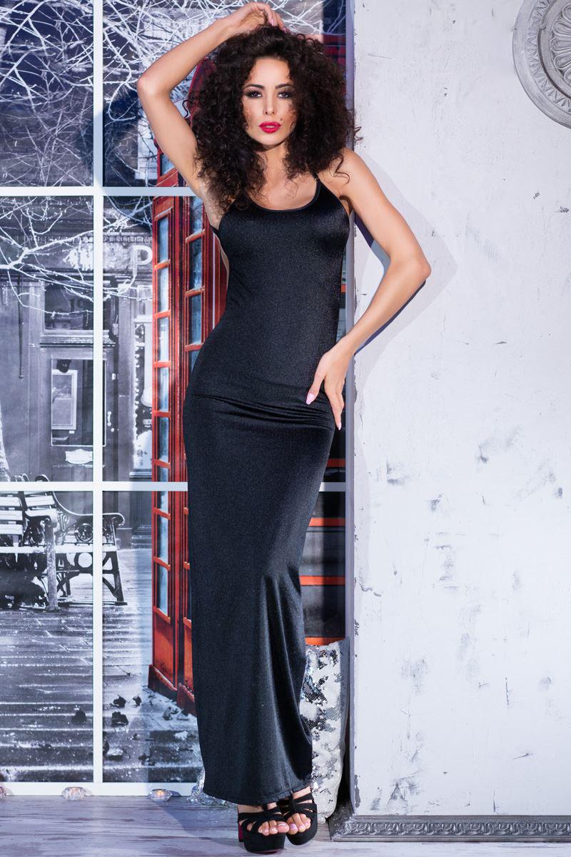 438df70d19bf00 Maxi glinsterende jurkje