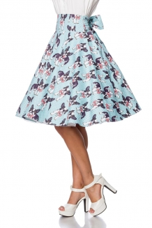 50's hoge taille swing rok Puppies