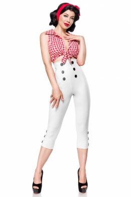 Retro 50S Capri leggings wit