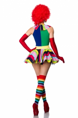 Dames clown kostuum set