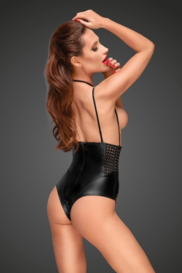 Decadence wetlook bodysuit