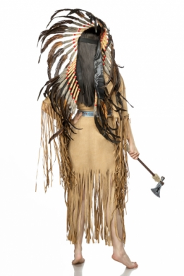 Native Amerikaans kostuum set