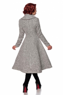 Luxury 50s style coat in tweed