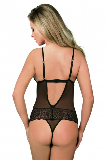 Excellent Beauty bodysuit met veer
