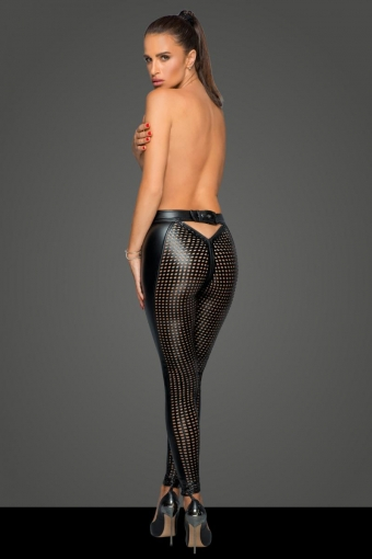 Miss behaved lasercut leggings