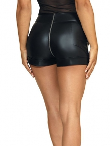Sexy matte latex hotpants