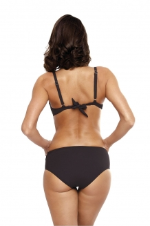 Trendy push-up beugel bikini Charcoal
