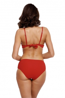 Trendy push-up beugel bikini rood