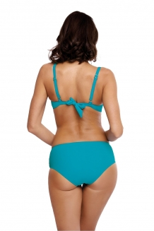 Trendy push-up beugel bikini turkoois